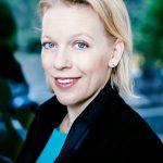 Maria Rankka, VD Handelskammaren, deltar i Nackas Infrastruktur på Nacka Företagarträff