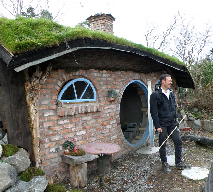 Hobbithotell – en världsnyhet i Nacka