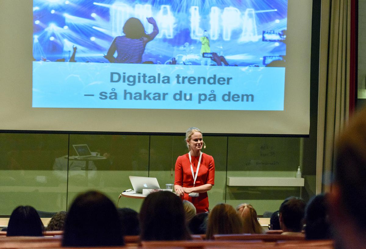 DigitalaTrender med Camilla Björkman