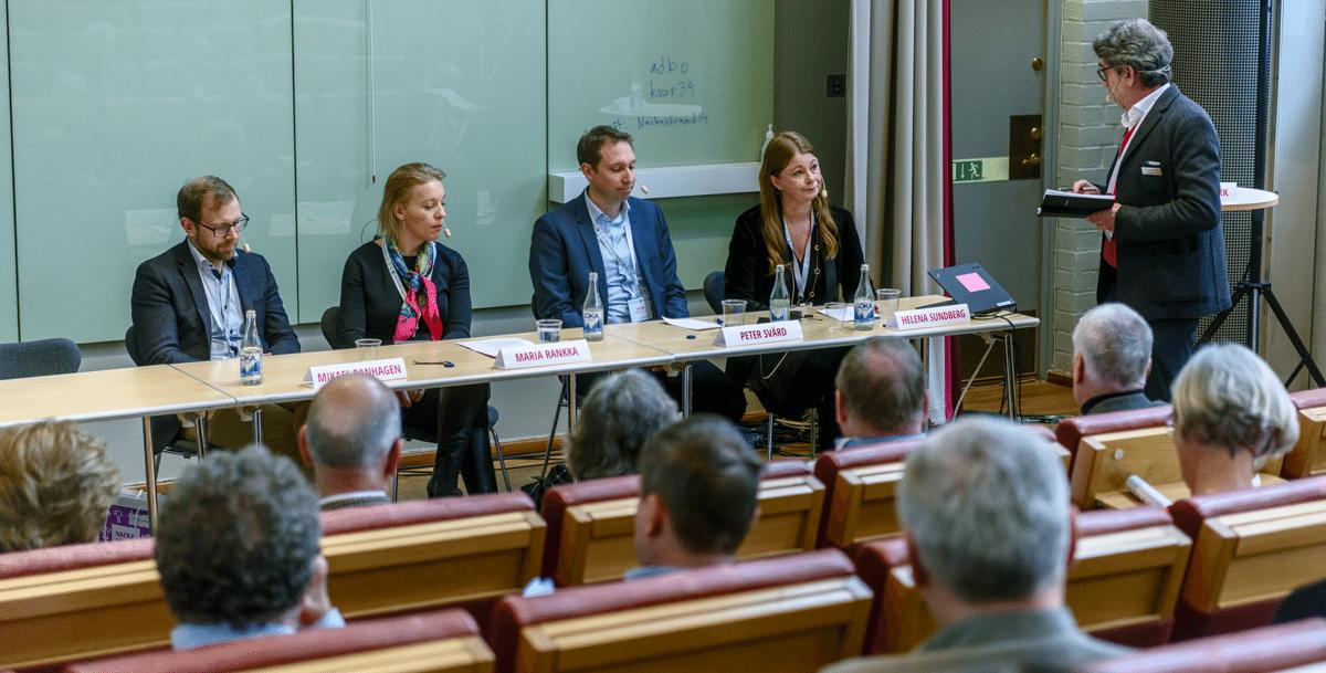 Panelbebatt Nackas Infrastruktur