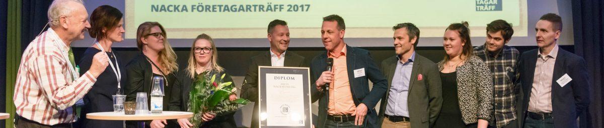 Vinnarna Nacka FöretagarTräff 2017