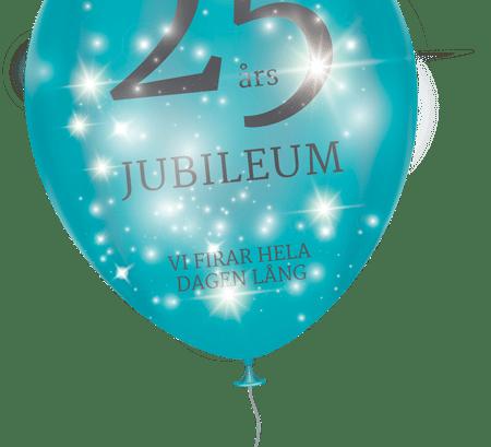 25 års jubileum – Vi firar hela dagen