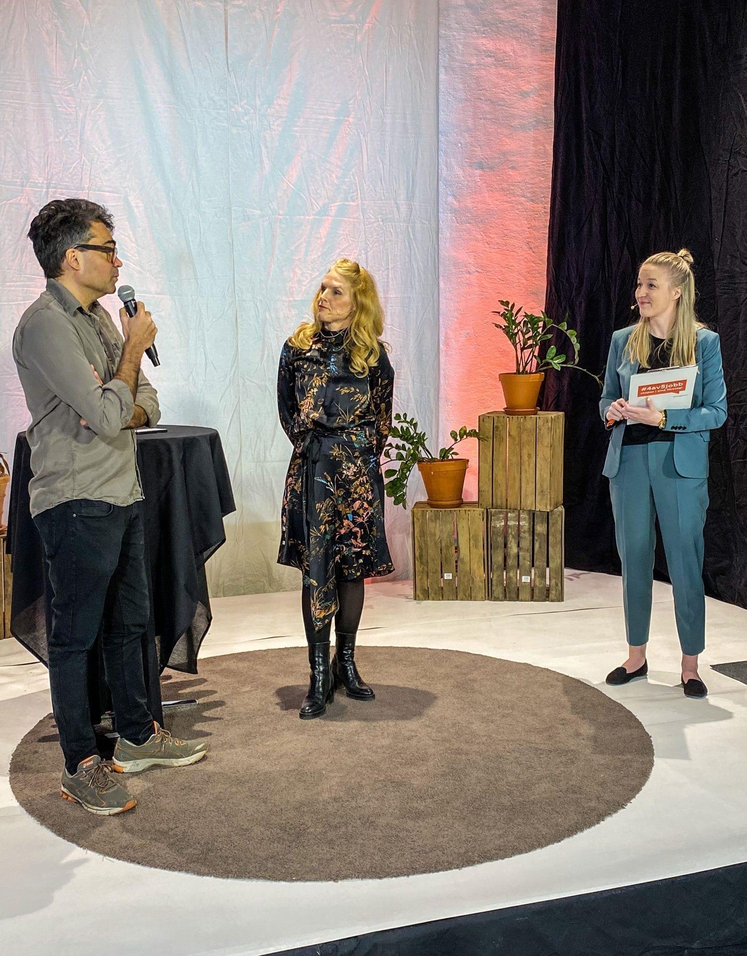 David Batra, Karin af Klintberg och Amanda Svensson