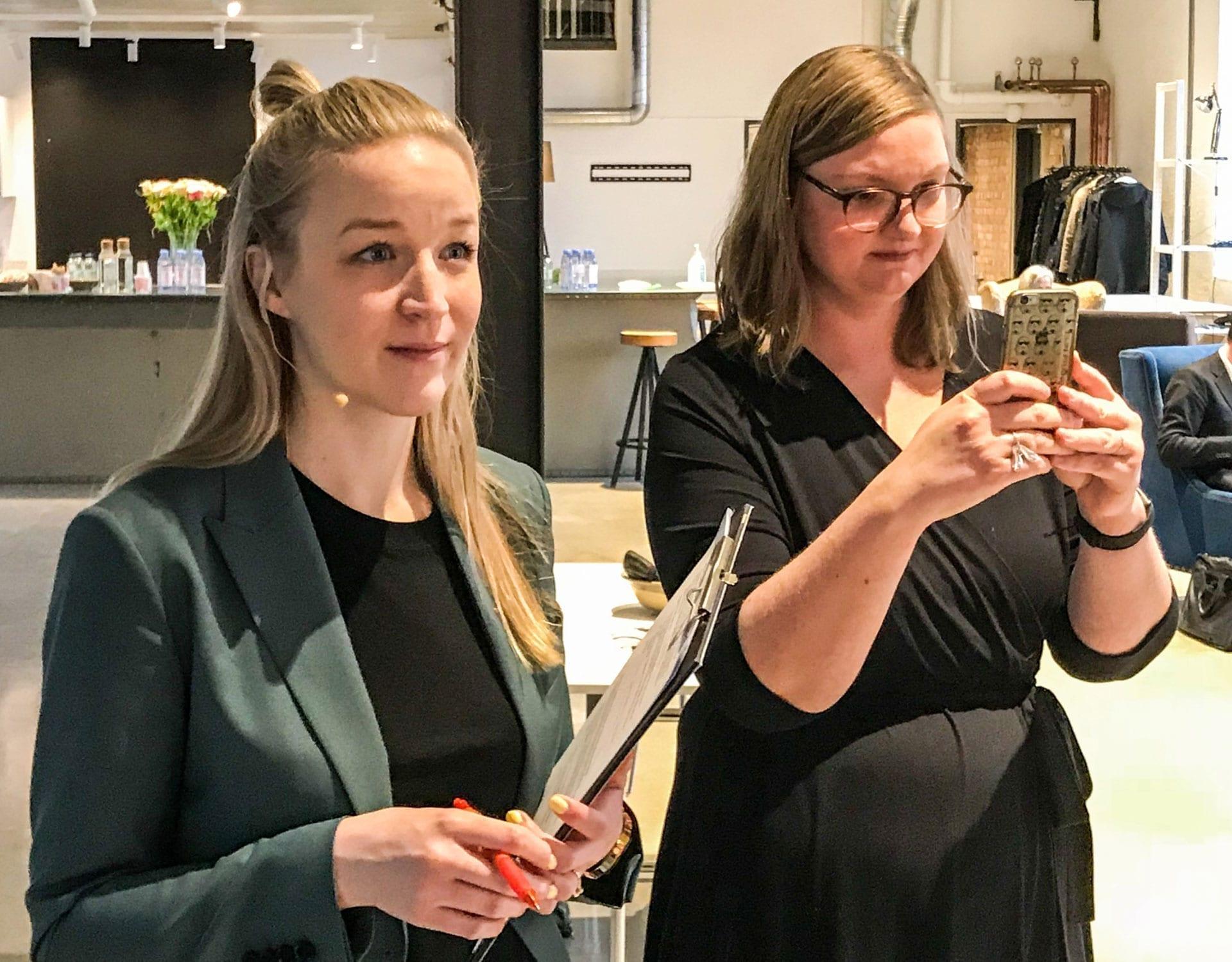 Amanda Svensson och Elin Fransson