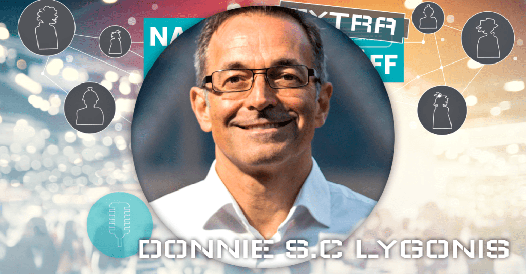 Donnie SC Lygonis på Nacka Företagarträff Extra